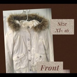 Girls Justice coat - size xl 16